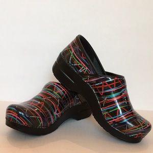 Dansko Professional Colorful Lady's Clogs Size 39